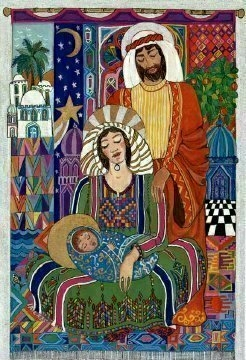 Nativity by Marwan Barghouti